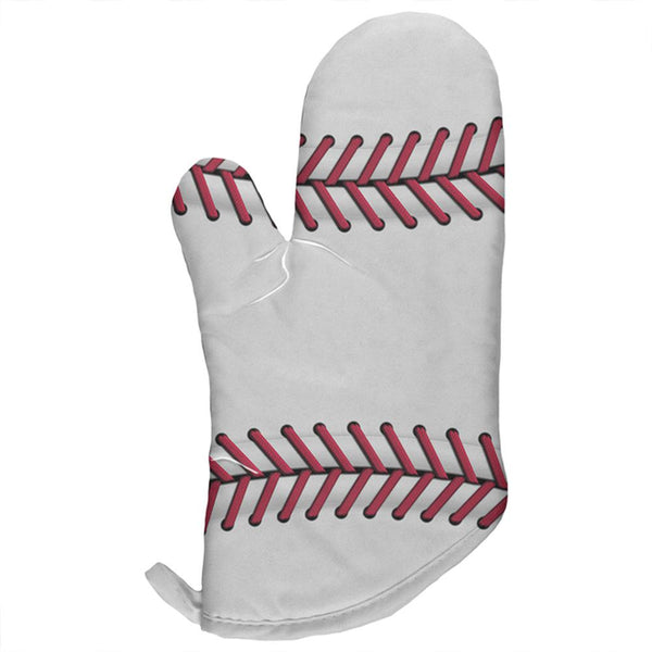 Baseball All Over Oven Mitt