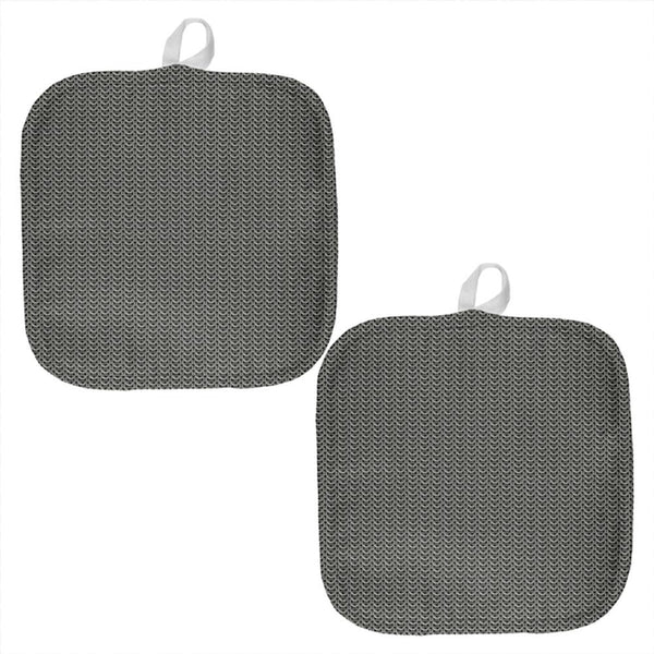 Chainmail All Over Pot Holder (Set of 2)