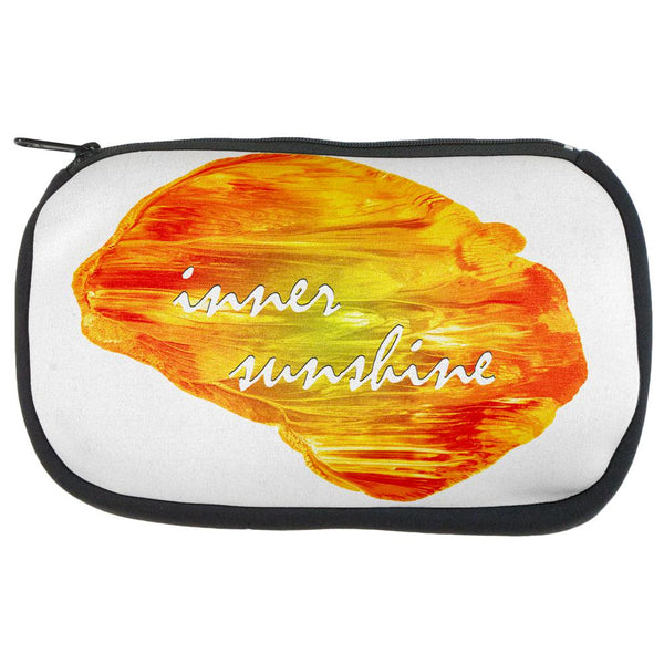 Inspirational Words Inner Sunshine Makeup Bag