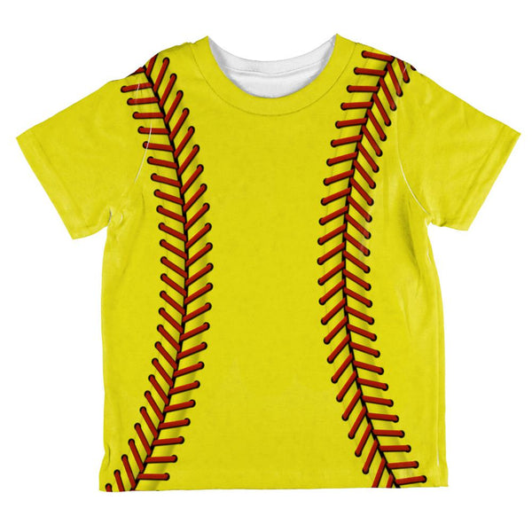 Softball All Over Toddler T Shirt
