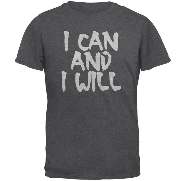 Daily Inspiration I Can And I Will Mens T Shirt