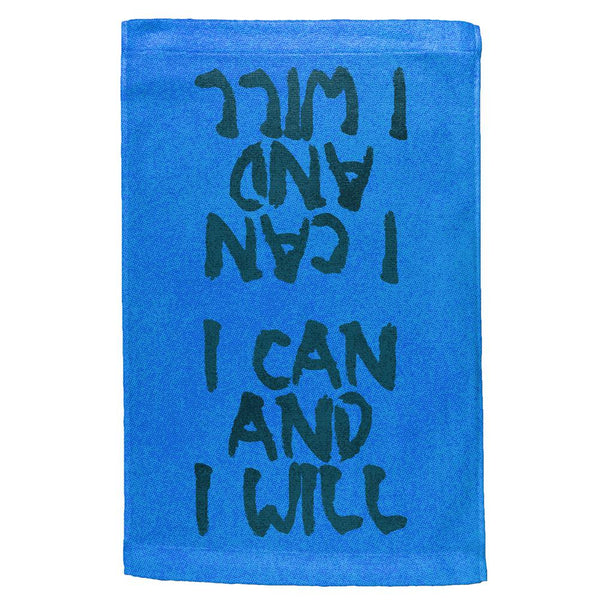 Daily Inspiration I Can And I Will All Over Sport Towel