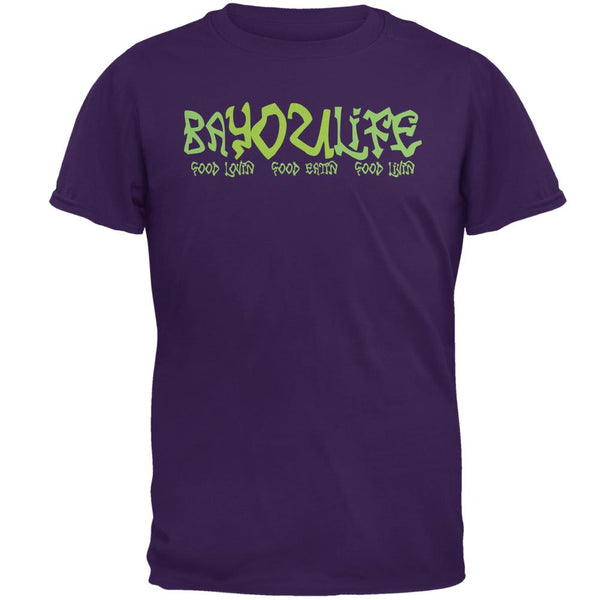Bayou Life Cajun Louisiana Mens T Shirt
