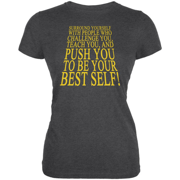 Key To Success Be Your Best Self Juniors Soft T Shirt