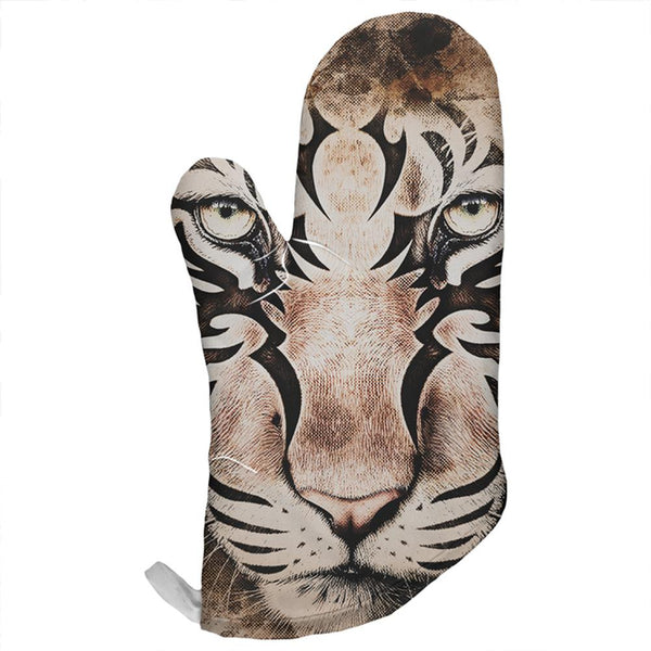 Tiger Eye Ghost And The Darkness All Over Oven Mitt