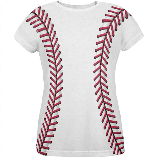 Baseball Costume All Over Womens T Shirt