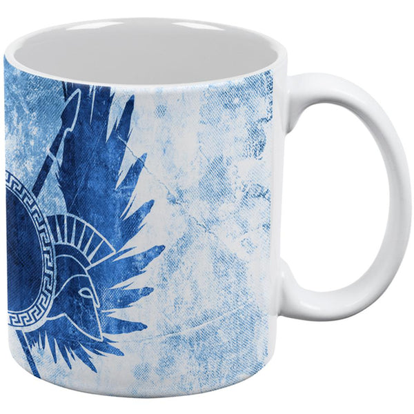 Amazon Greek Warrior Princess All Over Coffee Mug