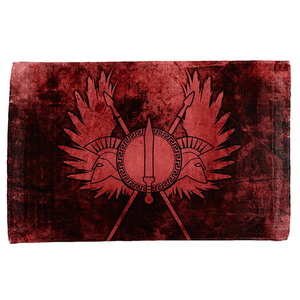 Spartan Greek Warrior Gladiator All Over Sport Towel