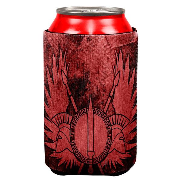 Spartan Greek Warrior Gladiator All Over Can Cooler