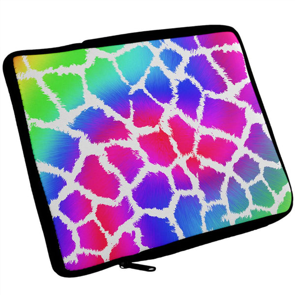 Show Your Colors Spots Gay Pride Rainbow iPad Tablet Sleeve