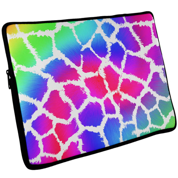 Show Your Colors Spots Gay Pride Rainbow Laptop Sleeve 17 inch
