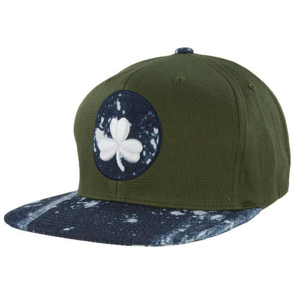 Boston Celtics - Stained Denim Mitchell & Ness Adjustable Baseball Cap