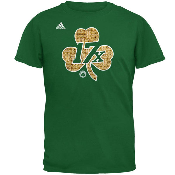 Boston Celtics - 17X Parquet Clover Mens T Shirt