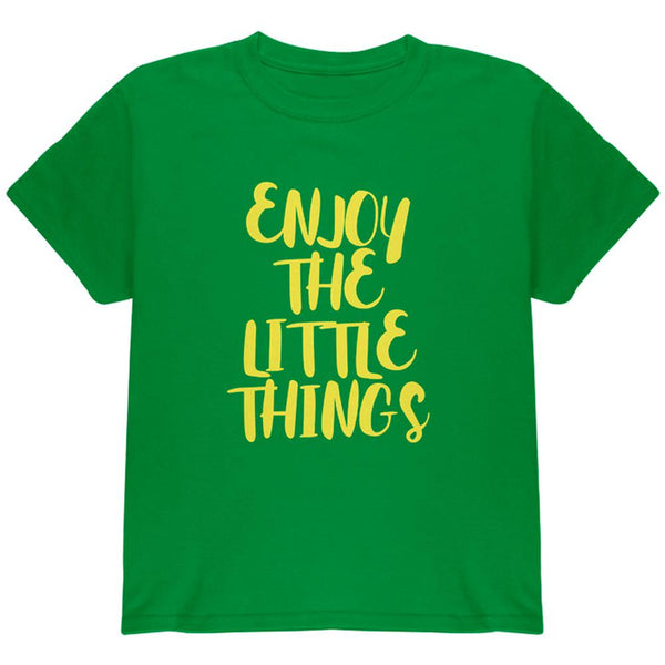Enjoy The Little Things Youth T Shirt