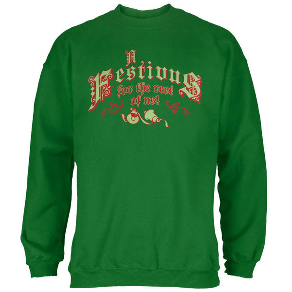Seinfeld - Festivus Ugly Christmas Sweater Mens Crewneck Sweatshirt