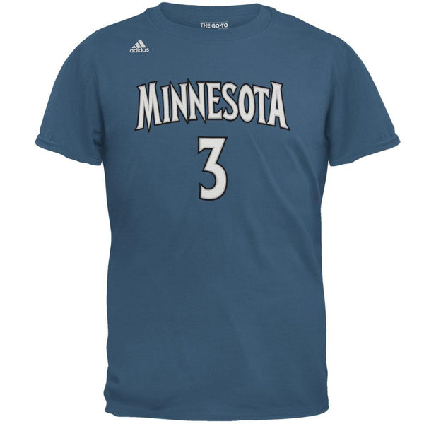 Minnesota Timberwolves - Kris Dunn Name And Number Road Mens T Shirt