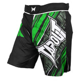 Tapout - Performance Green Mens Fight Shorts