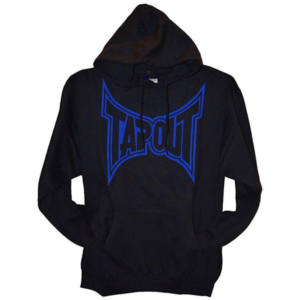 Tapout - Classic Blue Logo Mens Pullover Hoodie