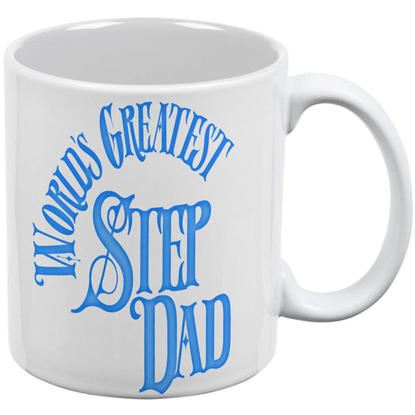 World's Greatest Step Dad All Over Coffee Mug