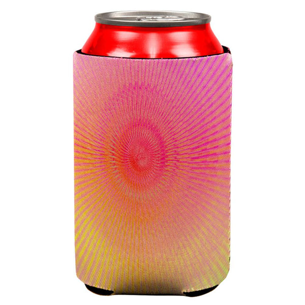 EDM Pastel Unicorn Rainbow Spiral All Over Can Cooler