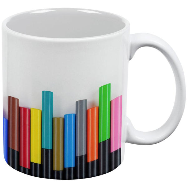 Artist Marker Markers All Over Coffee Mug