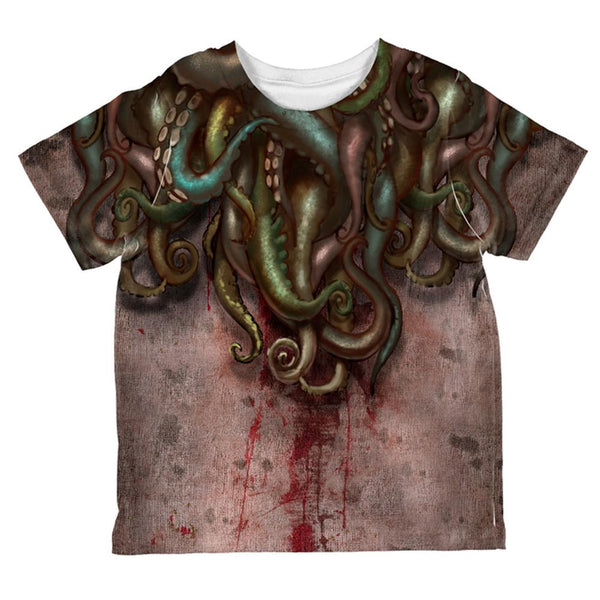 Cthulhu Greater God Tentacles Costume All Over Toddler T Shirt