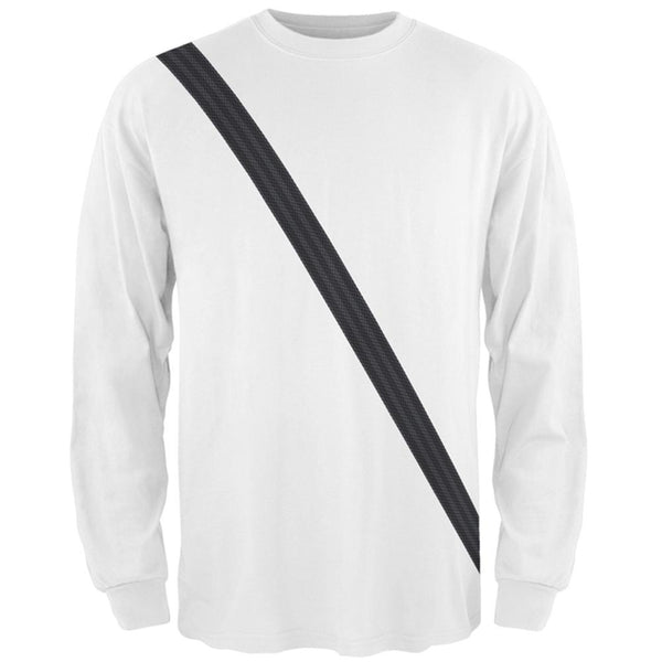 Seatbelt Passenger Side Costume All Over Mens Long Sleeve T Shirt