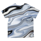 Halloween Liquid Chrome Costume All Over Toddler T Shirt