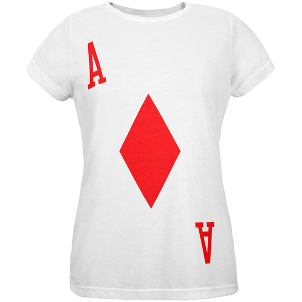 Halloween Ace of Diamonds Card Soldier Costume All Over Womens T Shirt