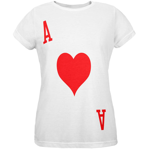Halloween Ace of Hearts Card Soldier Costume All Over Womens T Shirt