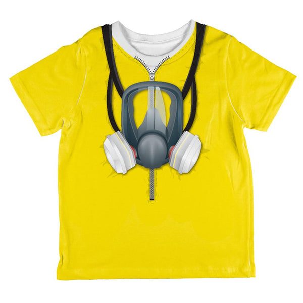 Lab Cooker Hazmat Suit Costume All Over Toddler T Shirt