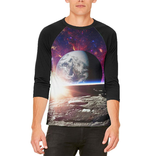 Explore The Infinity Of Space Mens Raglan T Shirt