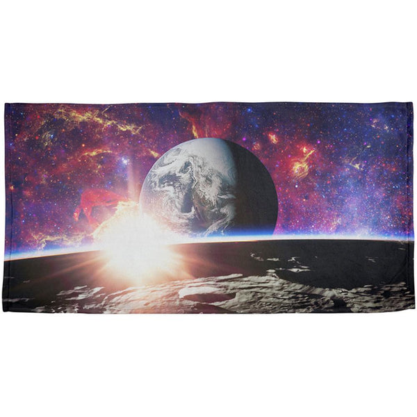 Explore The Infinity Of Space All Over Beach Towel