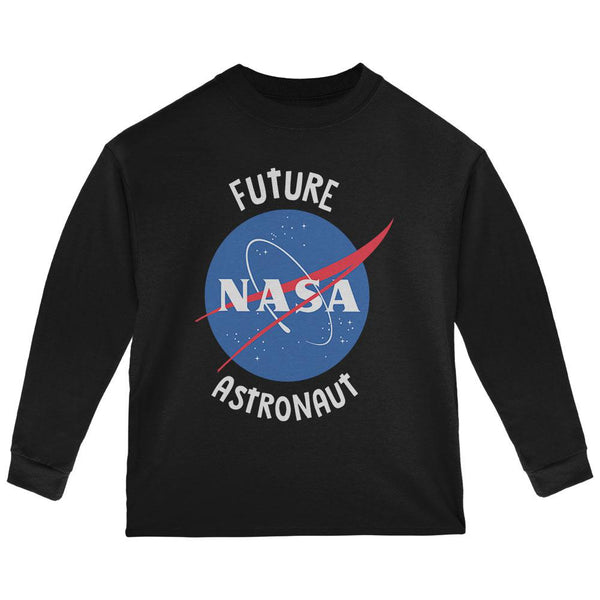 Future NASA Space Astronaut Toddler Long Sleeve T Shirt