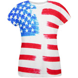 4th of July Color Me American All Over Womens T Shirt