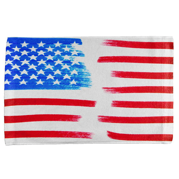4th of July Color Me American All Over Hand Towel