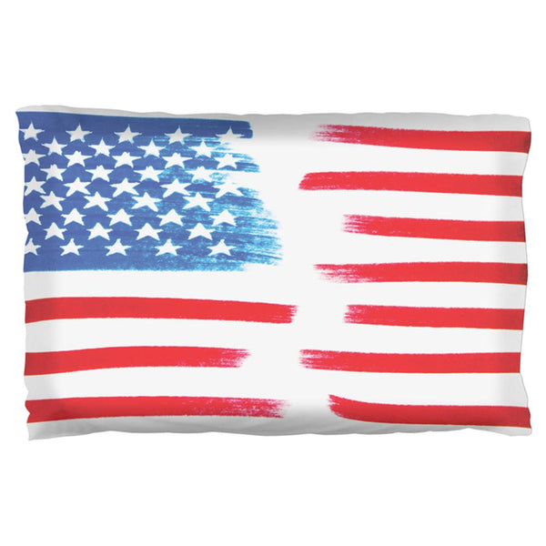 4th of July Color Me American Pillow Case