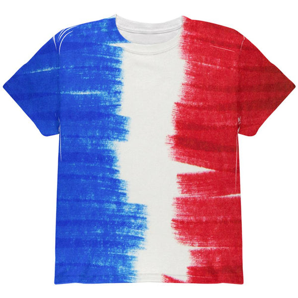 Color Me French All Over Youth T Shirt