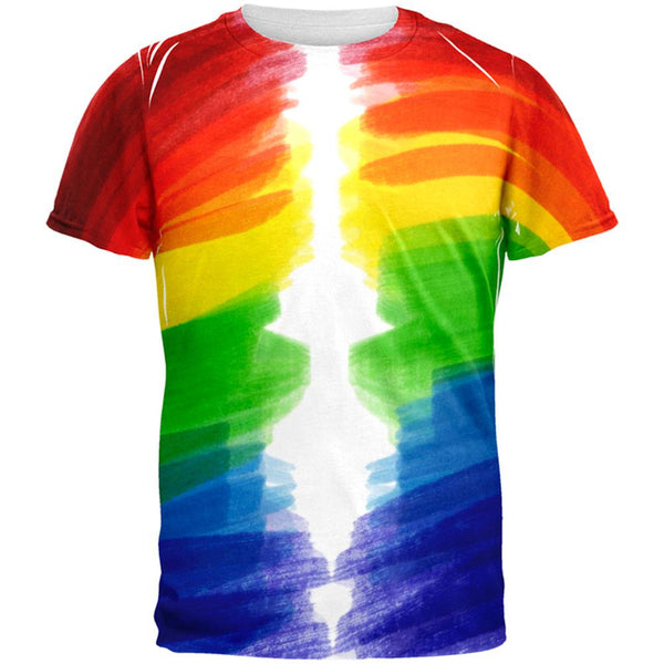 Color Me Gay Lesbian Pride All Over Mens T Shirt