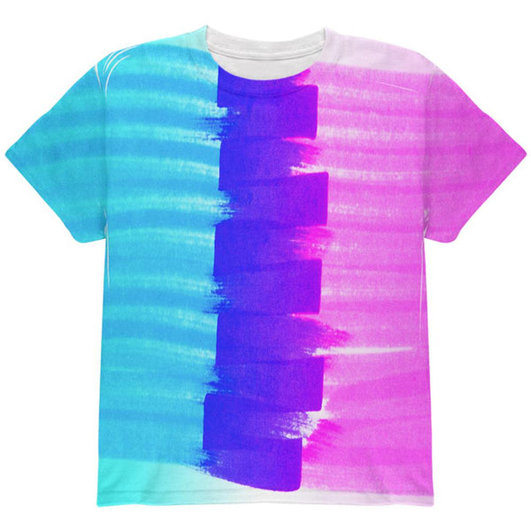 Color Me Transgender All Over Youth T Shirt
