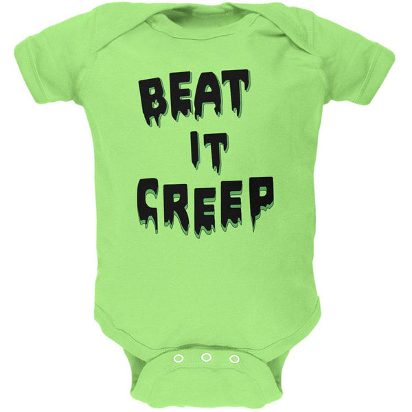 Halloween Beat it Creep Soft Baby One Piece