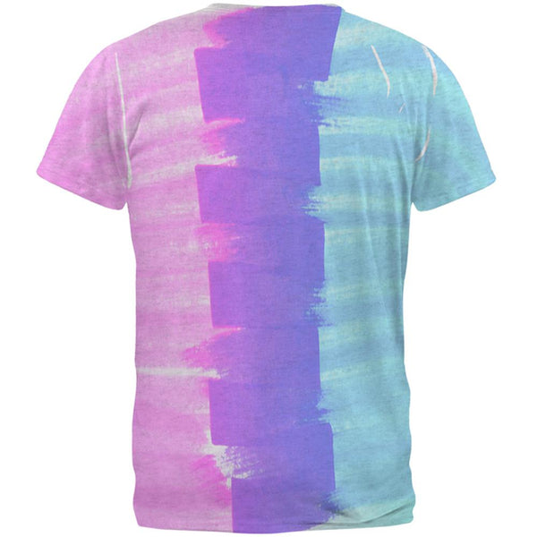 Color Me Transgender Mens Soft V-Neck T Shirt