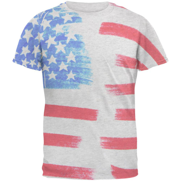 4th of July Color Me American Men's Soft T-Shirt