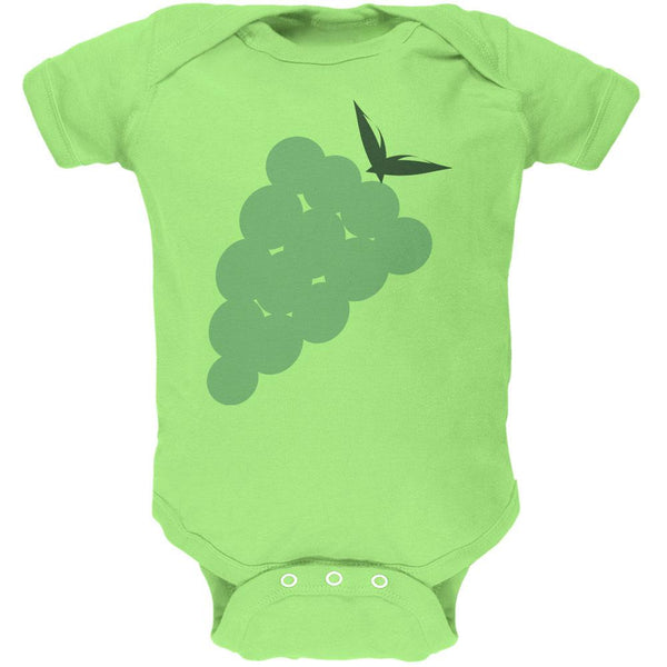 Halloween Green Grape Costume Soft Baby One Piece