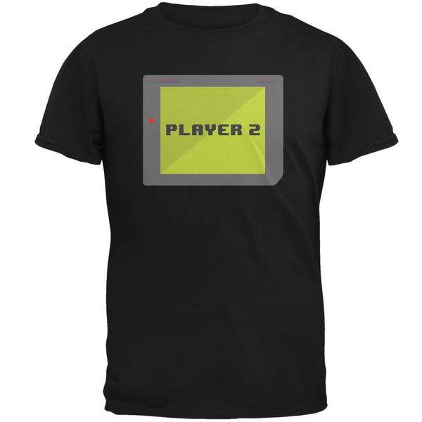 Halloween Old School Gamer Player 2 Mens T Shirt