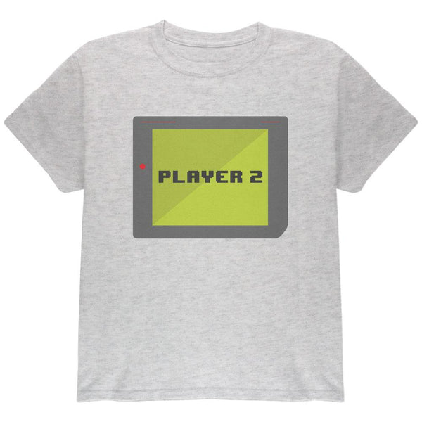 Halloween Old School Gamer Player 2 Youth T Shirt