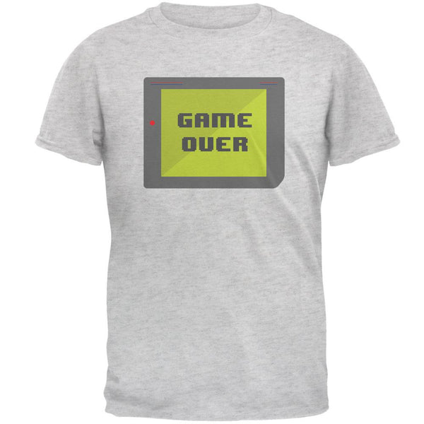 Halloween Old School Gamer Game Over Mens T Shirt
