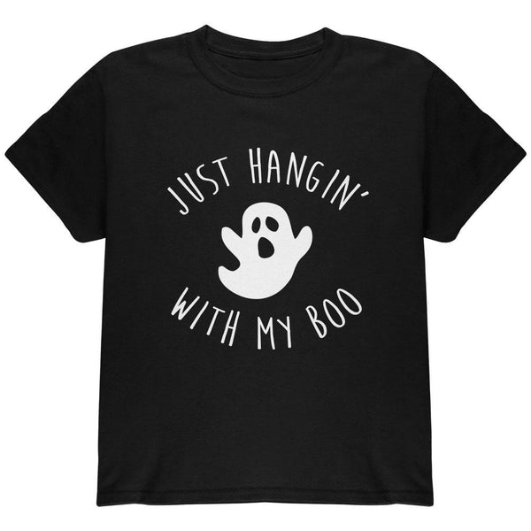 Halloween Just Hangin With My Boo Ghost Youth T Shirt