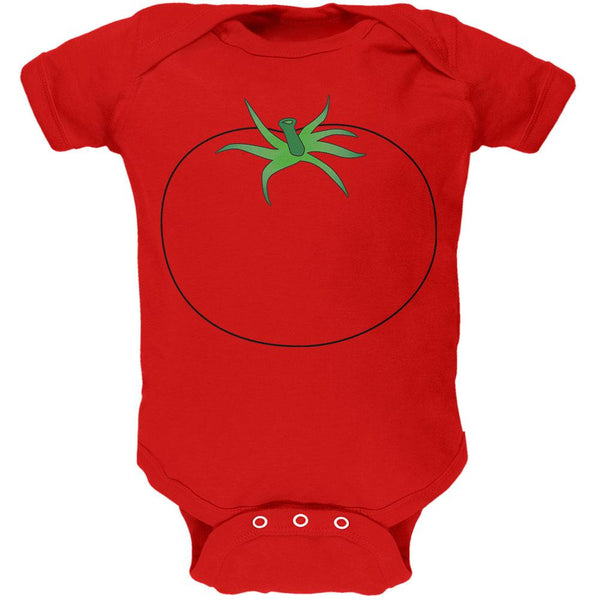 Halloween Fruit Vegetable Tomato Costume Soft Baby One Piece