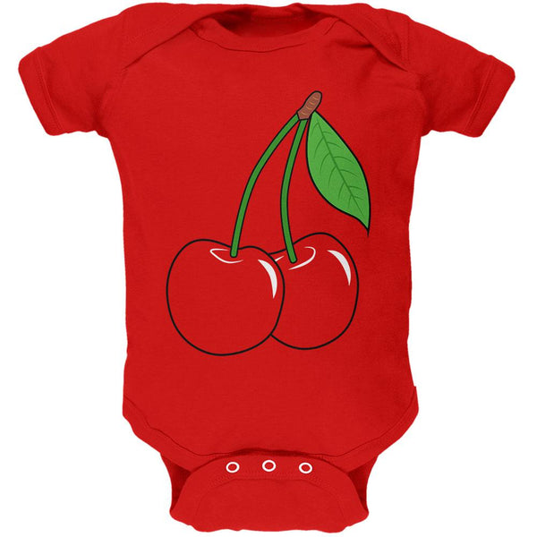 Halloween Fruit Cherry Costume Soft Baby One Piece